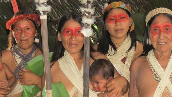 石油採掘にNo!  熱帯雨林保護に立ち上がったアマゾン先住民女性リーダーの...