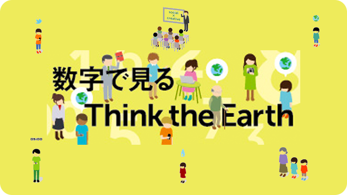 数字で見るThink the Earth