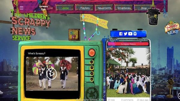 インド発「子どもがつくる、おもしろサステナブルニュース番組」  1万人の子どもたちが企画から取材まで!